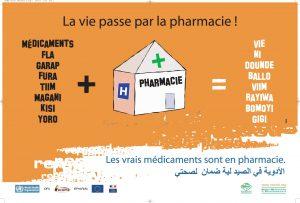 Affiche produite et diffusée dans 19 pays dans le cadre d'une campagne menée par ReMeD et ses partenaires