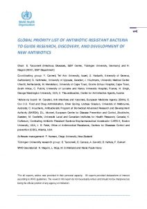 lobal-priority-list-of-antibiotic-resistant-bacteria-2017